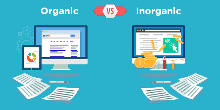 All You Need To Know About Inorganic & Organic marketing